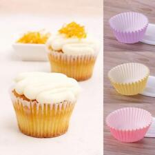 100PCS Mini Paper Cupcake Case Wrapper Muffin Liners Greaseproof Baking Cups