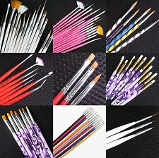 New 1x3 plastic brush cleaning bottles nail art tool S079