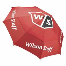 2017 Wilson Staff Pro Tour Golf Umbrella with Wind Resistance and Double Canopy