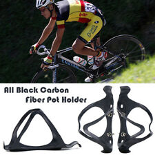 2 x Carbon Fiber Water Bottle Holder Cage For Cycling Road Bike Bicycle MTB