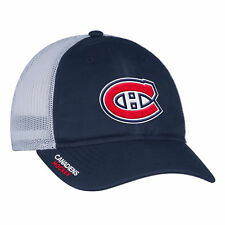 Montreal Canadiens adidas NHL Authentic Pro Meshback Slouch Flex Cap