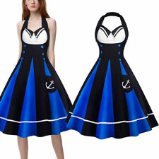 1950'S ROCKABILLY DRESS Vintage Style Swing Pinup Retro Housewife Prom Tea Dress