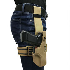 Automatic Loaded And Locking Right Hand Leg Pistol Holster for Glock G17 G18 G19