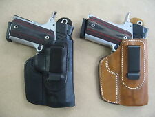 Azula Leather In The Waist IWB Concealment Holster CCW For..Choose Gun Color - B