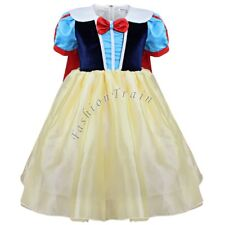 Halloween Girls Kids Princess Snow White Xmas Cosplay Costume Fancy Party Dress