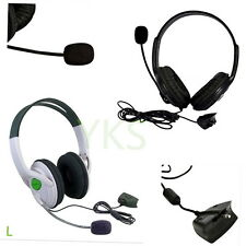 Live Big Headset Headphone With Microphone for XBOX 360 Xbox360 Slim NEW OB