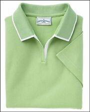 Outer Banks 6094 Ladies Egyptian Diamond Knit Polo Shirt with Tipping