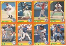 1990 Score Rookie/Traded Complete Team Set from Factory Set 17 Available RC