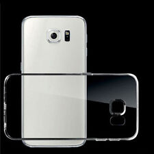 Soft Silicone TPU Ultra Thin Clear Transparent Cover Case For Samsung Galaxy !
