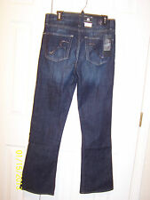 "NWT misses ""Rock & Republic"" Kasandra Vintage Vinyl boot cut jeans- ret. $88"