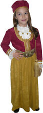 Greek Traditional Costume Amalia GOLD 4-12 Years old MARK574 for Girls
