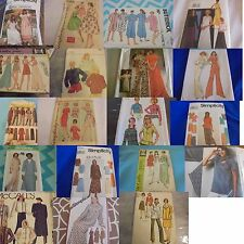 U PICK SEWING PATTERN MORE THAN PIC LINGERIE SLIPS  COAT DRESS MODERN-VINTAGE