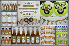 ** FISHING PERSONALISED Birthday Party Decorations Supplies Boys Mens **