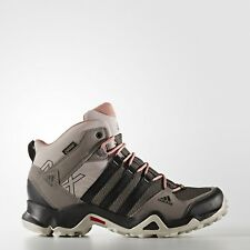 adidas Outdoor Women's AX2 Mid Gore-Tex Hiking Boot, Vapour Grey/Black/Raw Pink