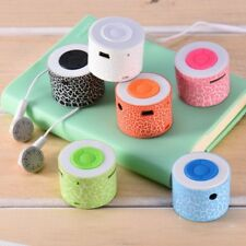 Mini Stereo Bass Portable MP3 Music Player Wireless Speaker Support TF Card Hot