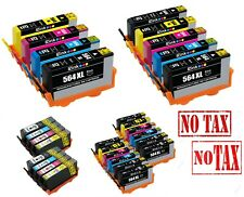Ink Cartridge for HP 7510 7515 7520 7525 564XL Set Black Photo Color 564 XL New