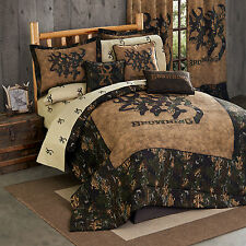 Browning 3D Buckmark Comforter Set With Sheets and Curtain Set FREE SHIPPING