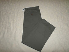 GAP KHAKI CHINO PANTS MENS CLASSIC STRAIGHT FIT SIZE 36X32 GREY COLOR NEW NWT