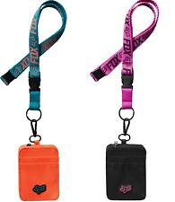 Fox Racing Skitter Lanyard With Id Holder One Size Sold Separately