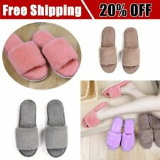 Autumn Winter Candy Color Anti-Slip Men Women Home Indoor Slippers Shoes I5