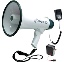 Bullhorn Megaphone with Detachable Microphone and 10 Second Memory Record 40 W