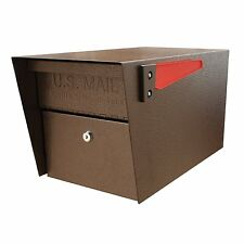 Security Mailbox Mail Locking Box Secure Lockable Post Steel Mount Heavy Duty