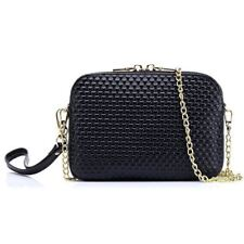 Women New Pattern PU Leather Long Chain Mini Shoulder Bag