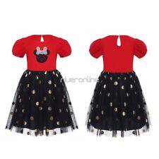 Infant Baby Girls Polka Dots Halloween Christmas Costume Cosplay Party Dress New