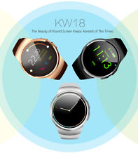KW18 Watch  SIM Card  Sport Smartwatch  Bluetooth Heart Rate Monitor  For IOS