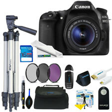 Canon EOS 1300D / Rebel T6 DSLR Camera with 18-55mm Lens + Expo Basic Kit