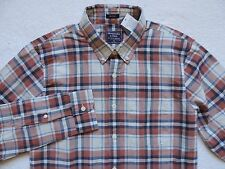 NWT Abercrombie & Fitch Men's Muscle Long-Sleeve Plaid Shirt Size: XL