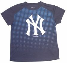 MLB Officially Licensed New York Yankees Kids Faded Square Check T-Shirt