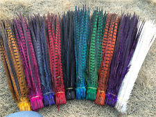 Wholesale!New 10-100Pcs 25-55cm/10-22inch natural pheasant tail Feathers
