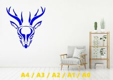 Beautiful Doe Alien/Rounded Head Stencil A4/A3/A2/A1/A0 350 micron STAG025