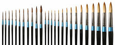 Daler Rowney Aquafine Watercolour Artist Paint Brushes - Assorted Size Round