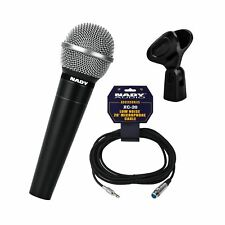 Nady SP-9 Kit Dynamic Cardioid Vocal and Instrument Handheld Microphone w/ XL...
