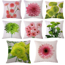 Decorative Floral Pattern Pillow Case Cushion Cover For Home Office Decor