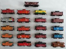 Quality HO Scale Cabooses- RTR- Kadee Couplers- Variation Listing
