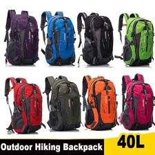 40L Waterproof Outdoor Sport Hiking Trekking Camping Travel Backpack Daypack Bag