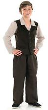 BOYS VICTORIAN EDWARDIAN SCHOOL BOY FANCY DRESS UP COSTUME OUTFIT NEW AGE 4-12