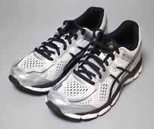 ASICS Junior Youth Kids Shoes GEL-KAYANO 22 GS SILVER/BLACK/GOLD Running