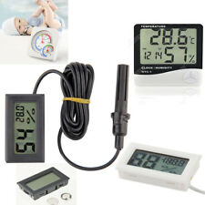 Mini Digital LCD Indoor Temperature Humidity Meter Thermometer Hygrometer RF HOT