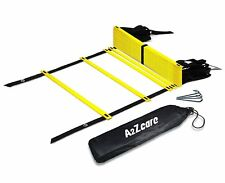 A2ZCare Agility Ladder - Speed Training Equipment for Footwork, Soccer, Athletic