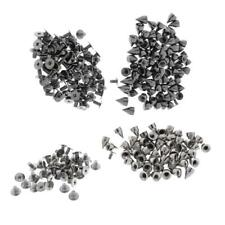 Lots Punk Spike Rivet Screw Beads DIY Metal Cone Studs Nail Spots Leather Crafts