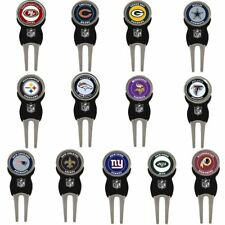 2018 NFL Teams Logo Pack of 3 Replaceables Training Golf Divot Tool Markers
