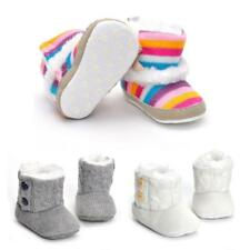 Soft Sole Unisex Cotton Baby Kids Toddler Girl Boy Anti-Slip Winter Shoes Boots