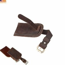 Luggage Tag Leather Purse Flight Name Pouch Travel ID Lable Overnight Duffle Tag
