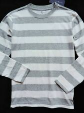 NWT Tommy Hilfiger Boy's Long Sleeve Crew Neck Striped Tee Size: M (8-10)