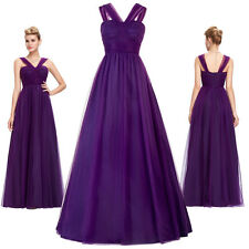 Party Prom Gown Formal Cocktail Evening Wedding Long Dress Homecoming Bridesmaid