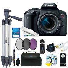 Canon EOS Rebel T7i DSLR Camera with 18-55mm Lens + Expo Basic Kit
